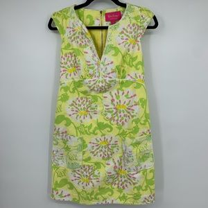 Lily Pulitzer Jubilee Dress 2 Floral knee length
